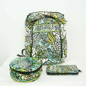 Vera Bradley Backpack Wallet Toiletries Bag
